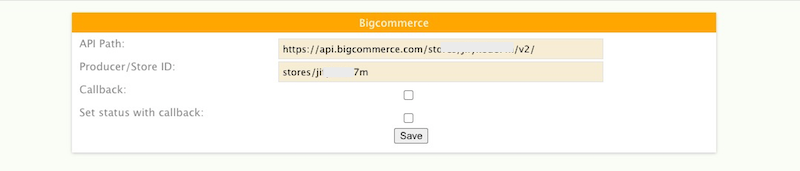 Bigcommerce dialogue box
